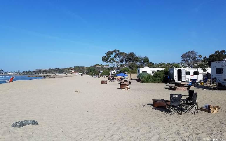 Doheny State Beach Campground In Capistrano Ca Hereforter